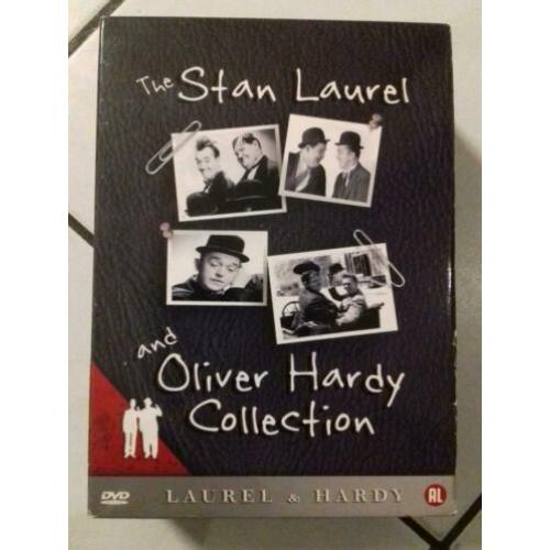 The stan laurel and Oliver hardy collection