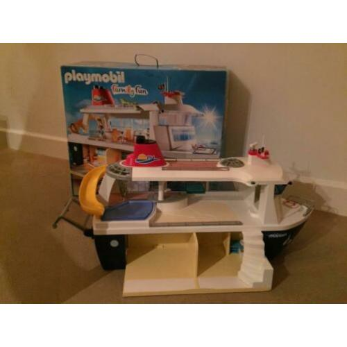 Playmobil familie Fin cruiseschip 6978