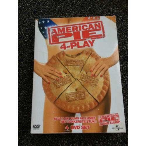 dvd 4-disc box : American Pie