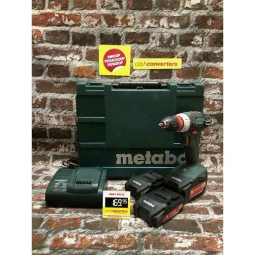 Metabo BS18Quick | in koffer 3x accu